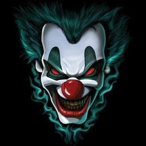 300x300 Freak Show Evil Clown Face T Shirt All Sizes Amp Colors (3018
