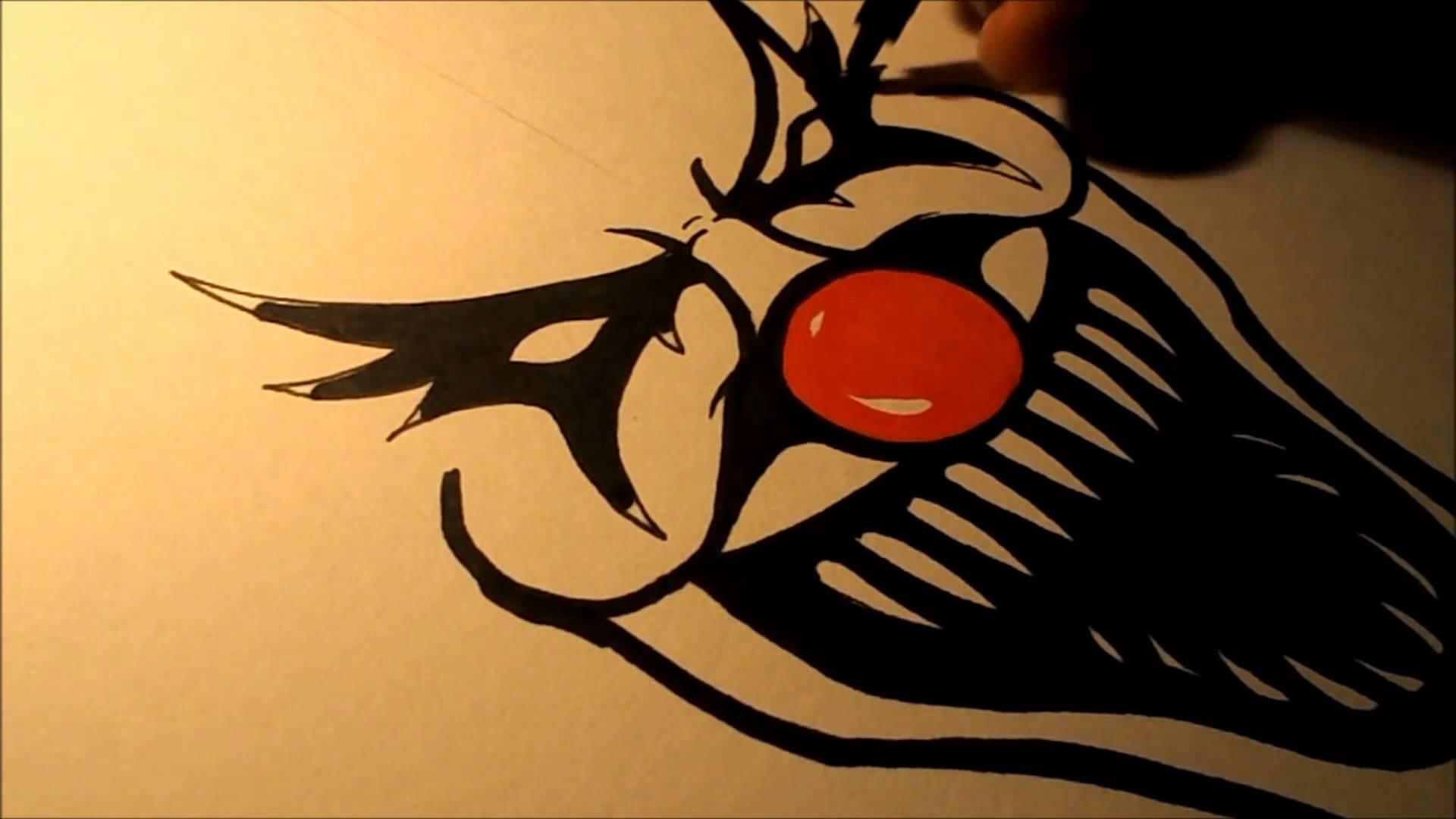 1920x1080 How To Draw An Evil Clown Ii