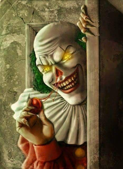 466x641 Creepy Evil Clown Creepy Clowns Evil Clowns