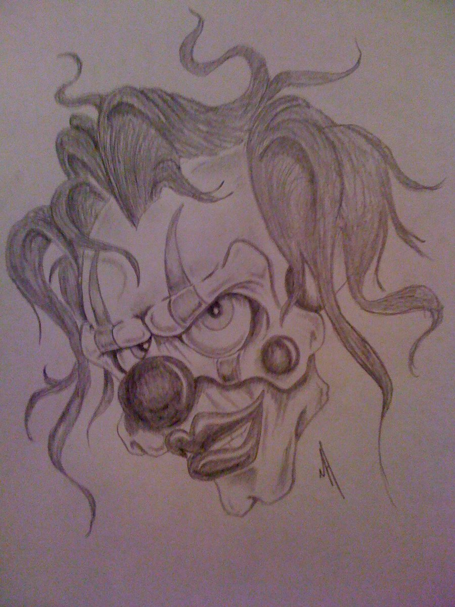 900x1200 Clown By Mikesart22007