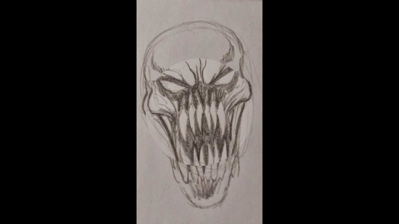 1280x720 How To Draw An Evil Demon Head Slideshow