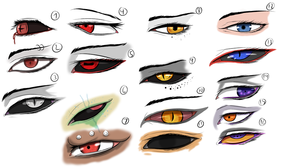 900x534 Character Eye Studypractice By Arrancarfighter