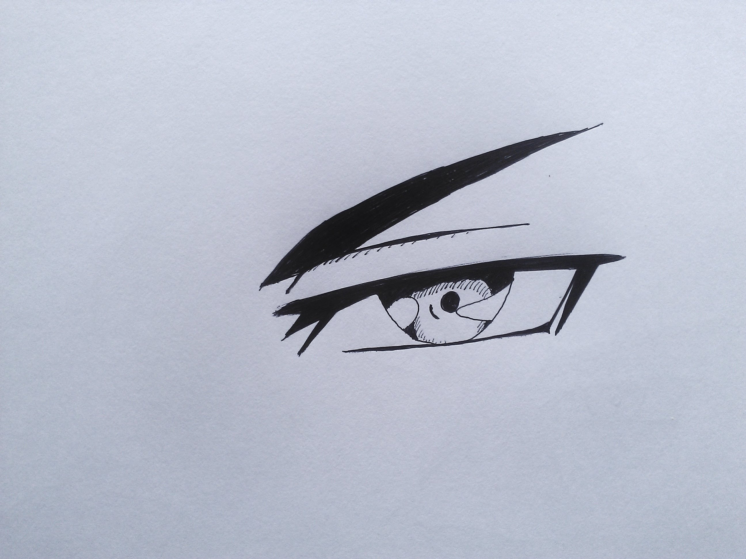 2592x1944 How To Draw Evil Anime Eye