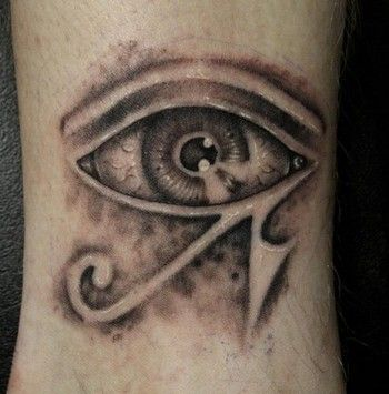 350x355 17 Best Egypt Evil Eyes Tattoos Images On Evil Eye