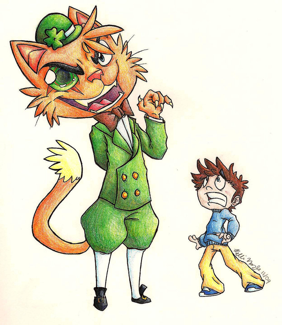 900x1038 The Boy N The Evil Leprechaun By Cheese Is Tasty