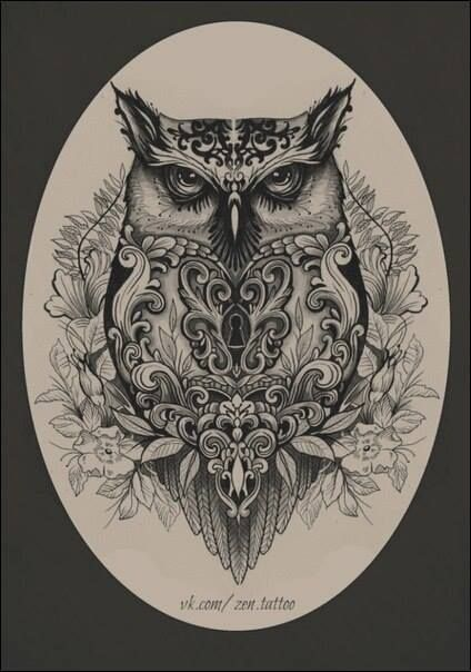 424x604 Evil Owl Ink Tattoo And Piercings