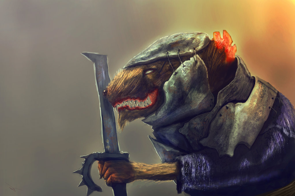 1024x680 Evil Rat By Nahelus