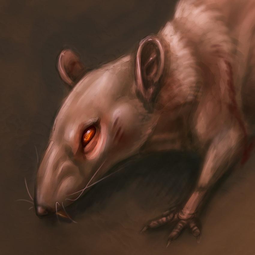 850x850 Quick Crappy Evil Rat Doodle By Foxbat Sullavin