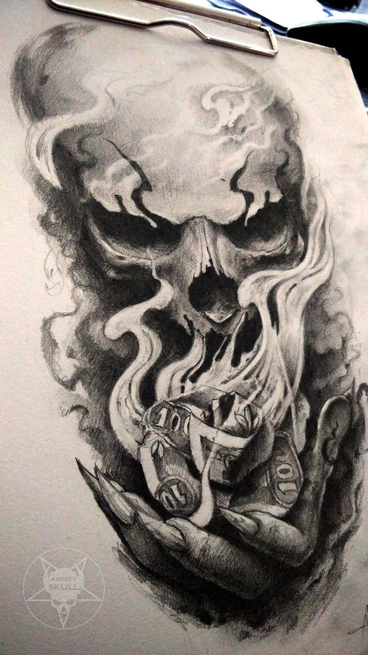 evil skulls drawing at getdrawings com free for personal use evil