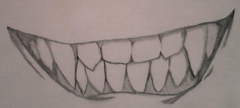 evil smile drawing at getdrawings com