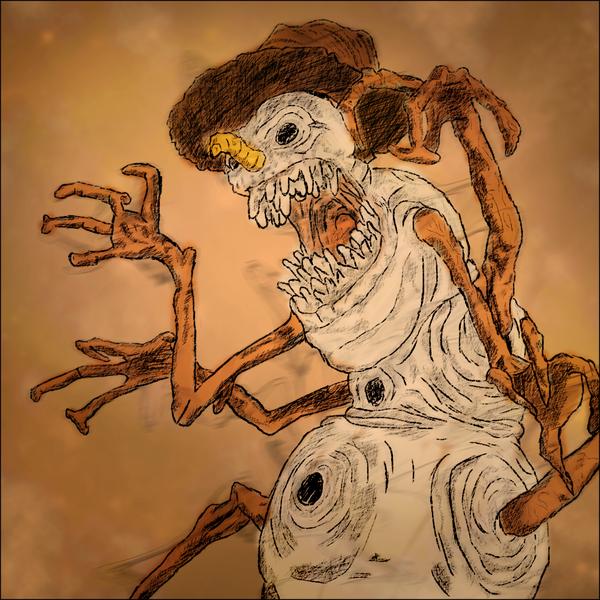 600x600 Evil Snowman By Asktb93