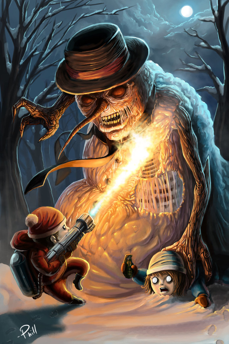 730x1095 Scorching The Evil Snowman By Phillterunfilturd