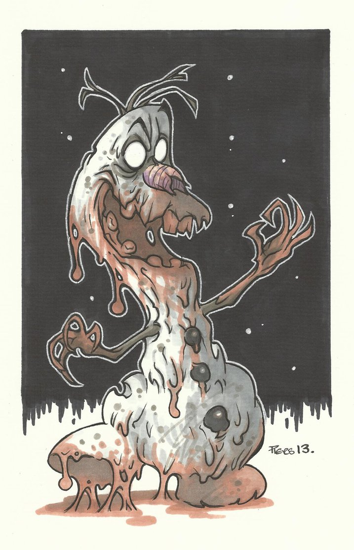 717x1115 The Abominable Snowman By Leagueof1