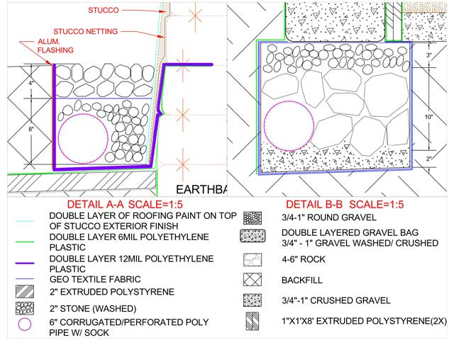 640x480 Completed Final Cad Drawing Of Earthbag Village Dome Excavation