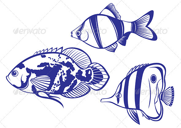 590x417 Tropical Fish Fonts Logos Icons Tropical Fish