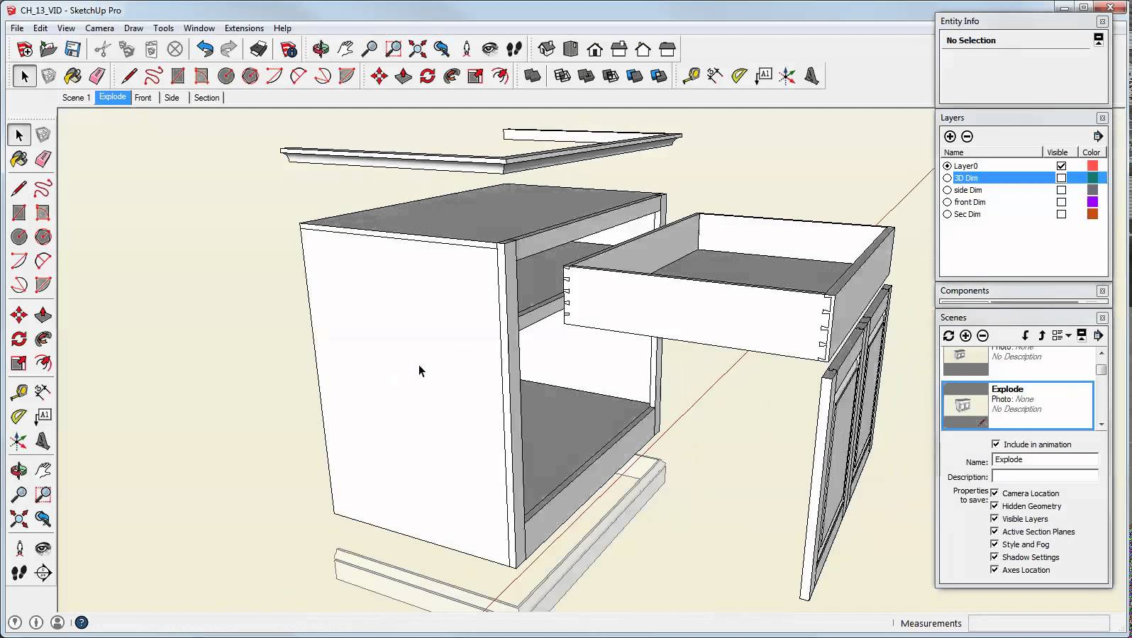1596x900 Make An Exploded View In Sketchup