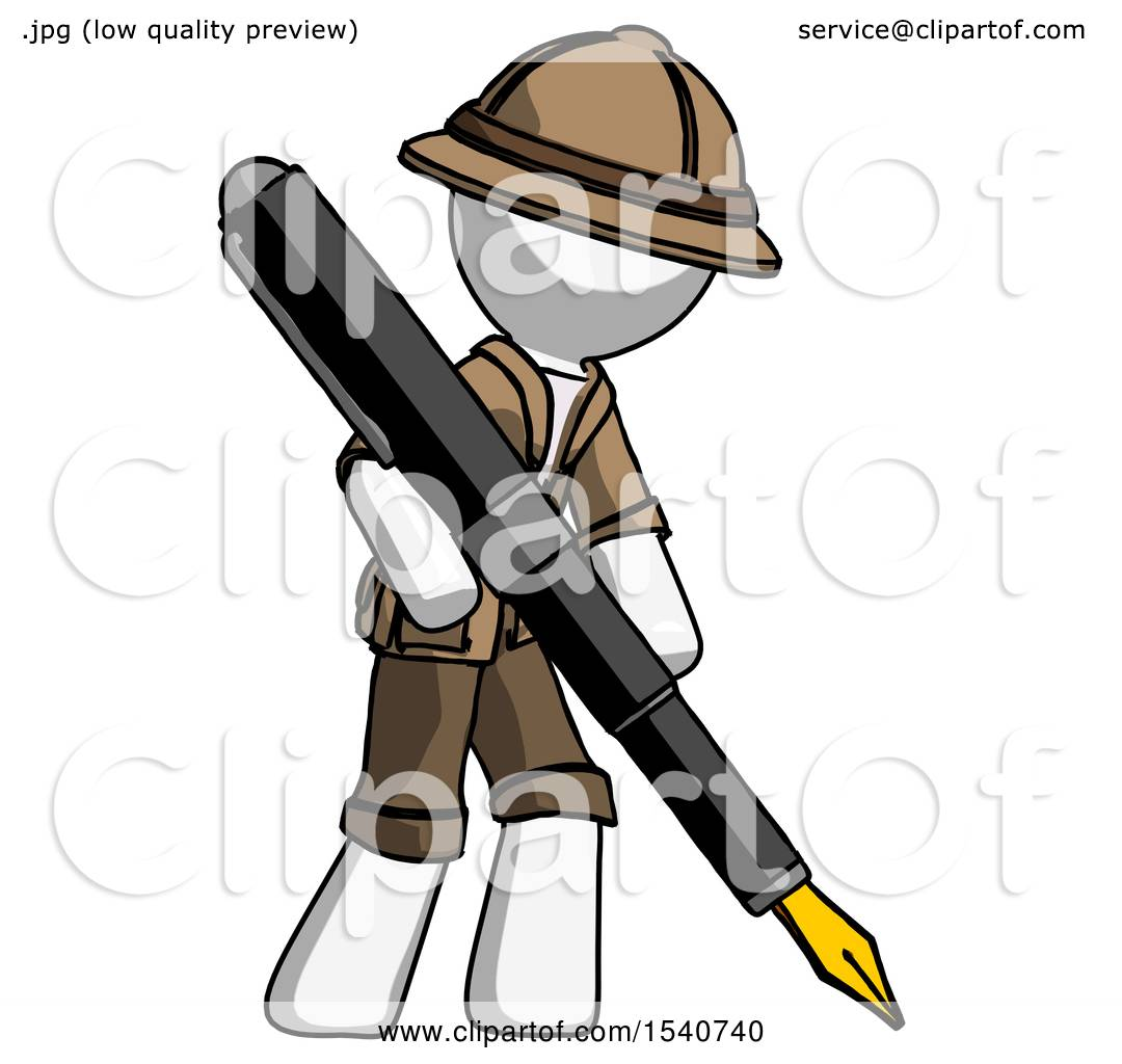1080x1024 White Explorer Ranger Man Drawing Or Writing With Large