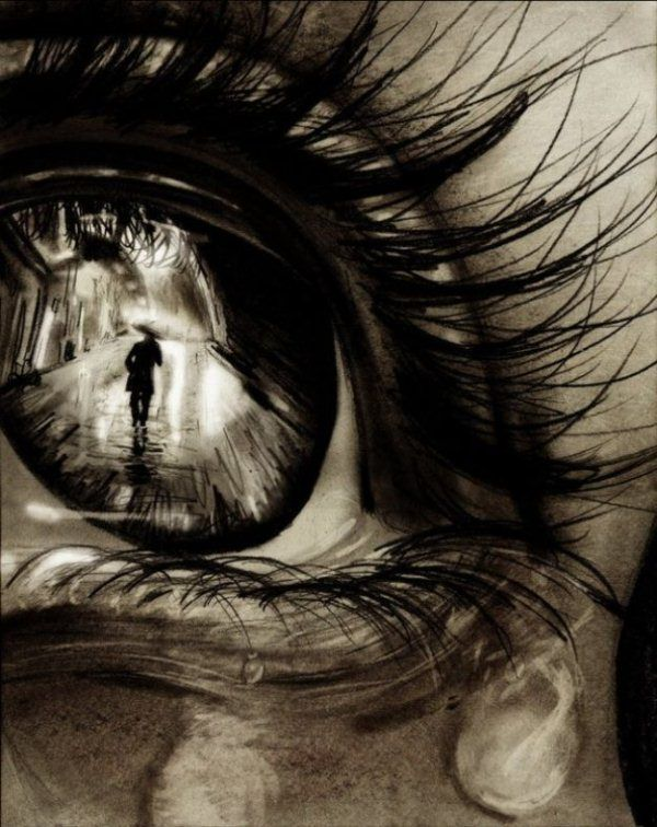 600x756 30 Expressive Drawings Of Eyes Art And Design