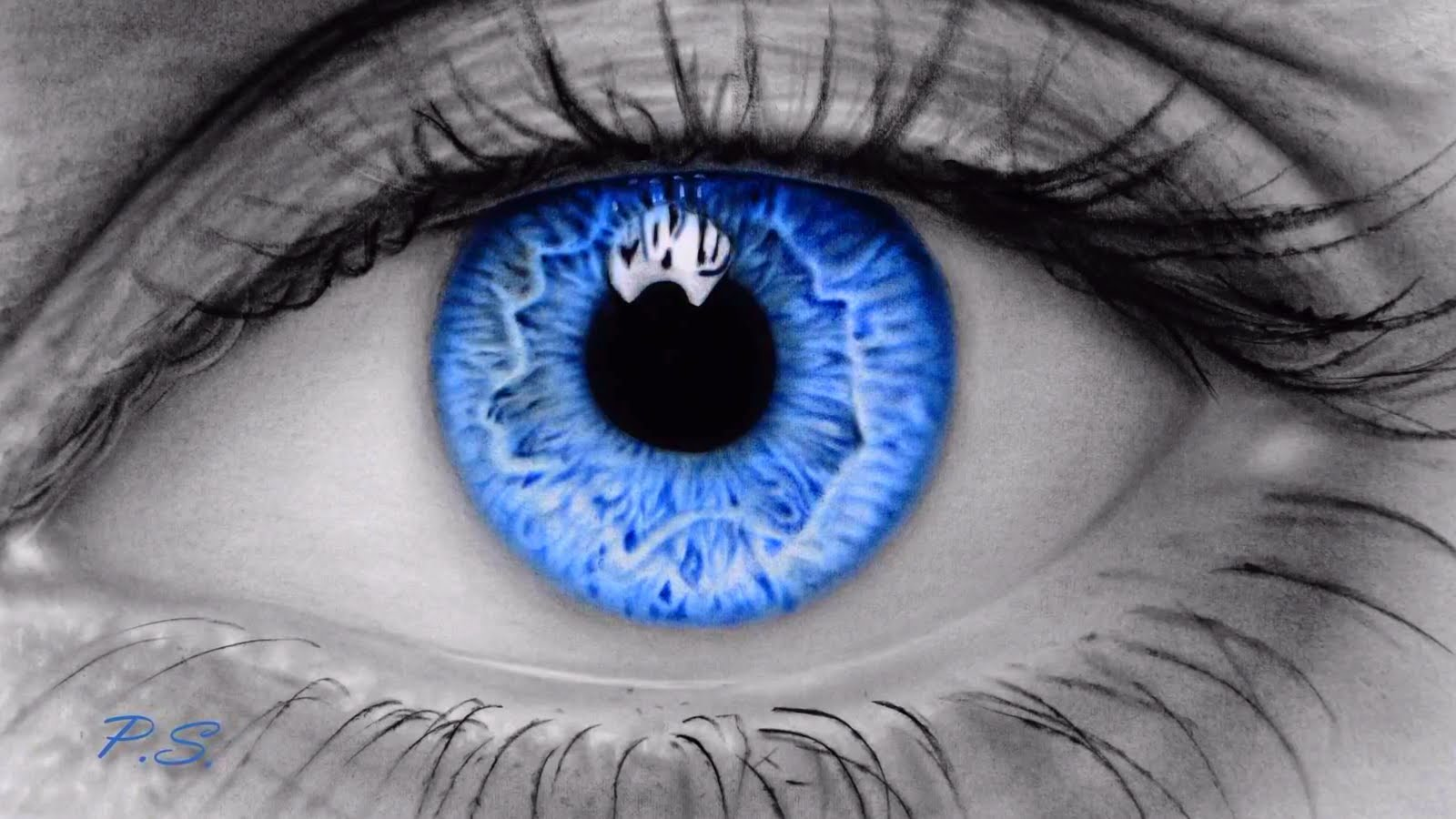 1600x900 Learn How To Draw A Realistic Eye Canvas Art Creations