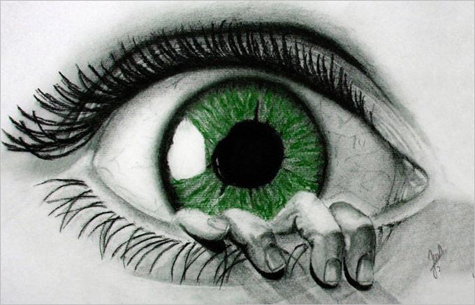 680x436 Eye Drawings