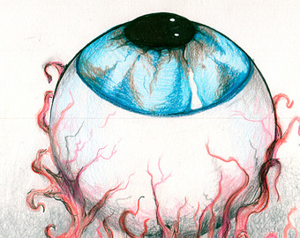 340x270 Eyeball Drawing