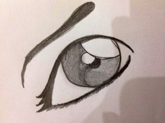 640x478 How To Draw A Cartoon Eye