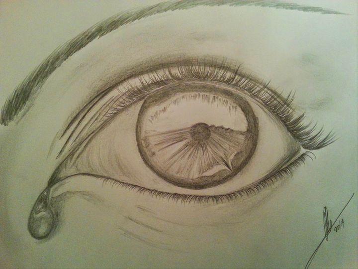 720x540 Crying Eye