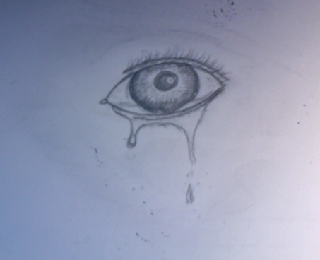 453x368 crying eye sketch by blacksoulhero on deviantart