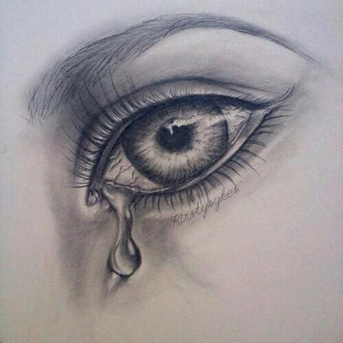 500x500 crying eye drawing breathtaking art pinterest crying eyes