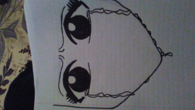 670x377 How To Draw An Anime Eye Crying 7 Steps (With Pictures)