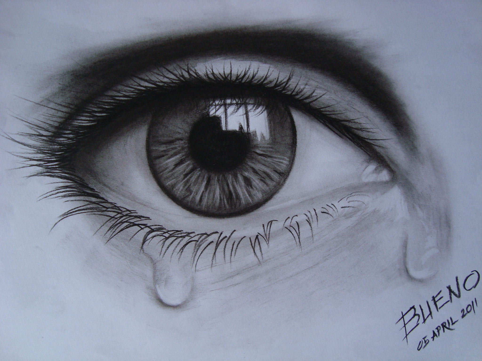 Eye Crying Drawing At Getdrawings Com Free For Personal