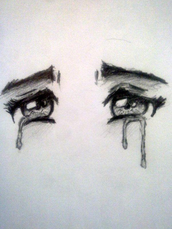 600x800 Drawn Eyes Crying Anime Eyes By ~mosten94
