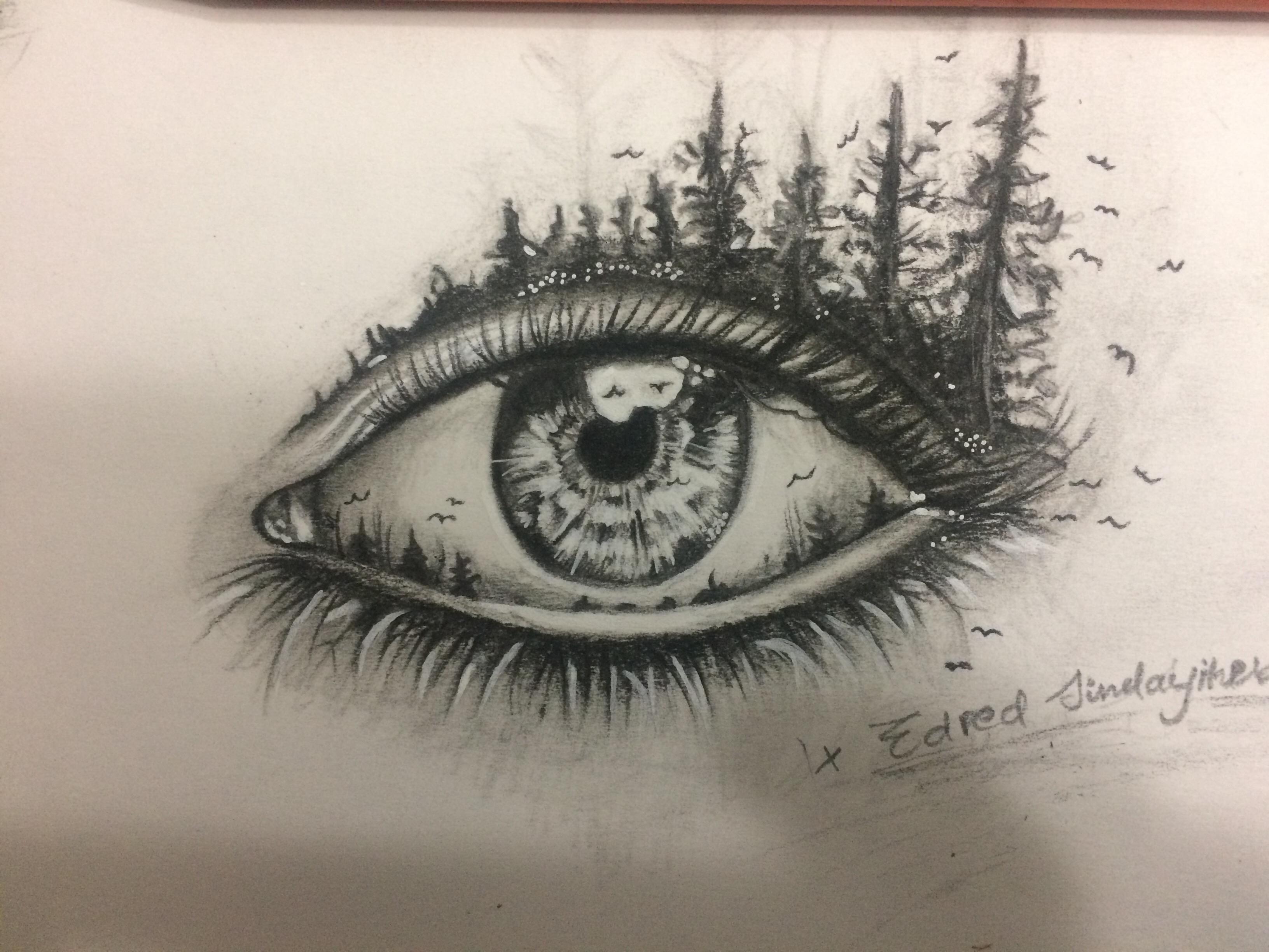 3264x2448 Creative Eye Drawing Eye Drawings Drawing Pics