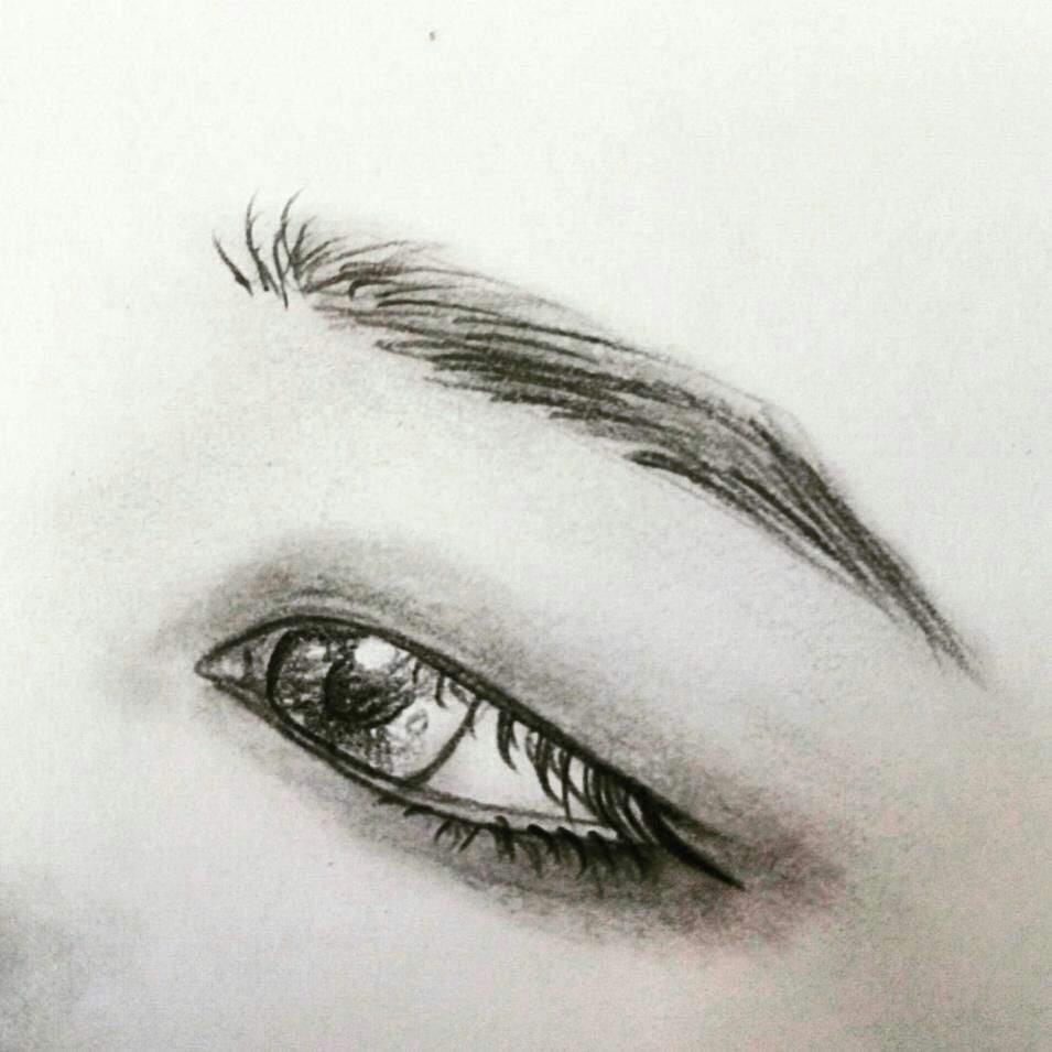 955x955 Jimin Eye Drawing Tutorial Army's Amino