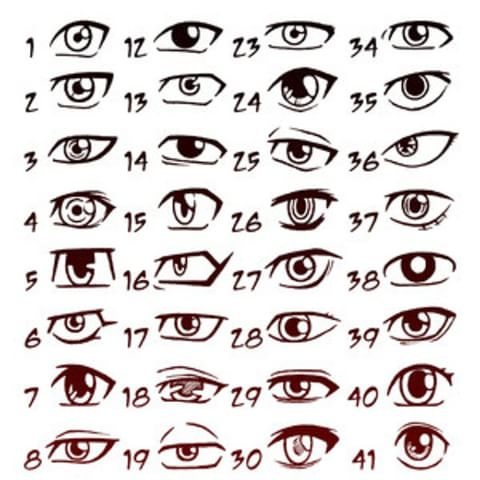 eye drawing template at getdrawings com free for personal use eye