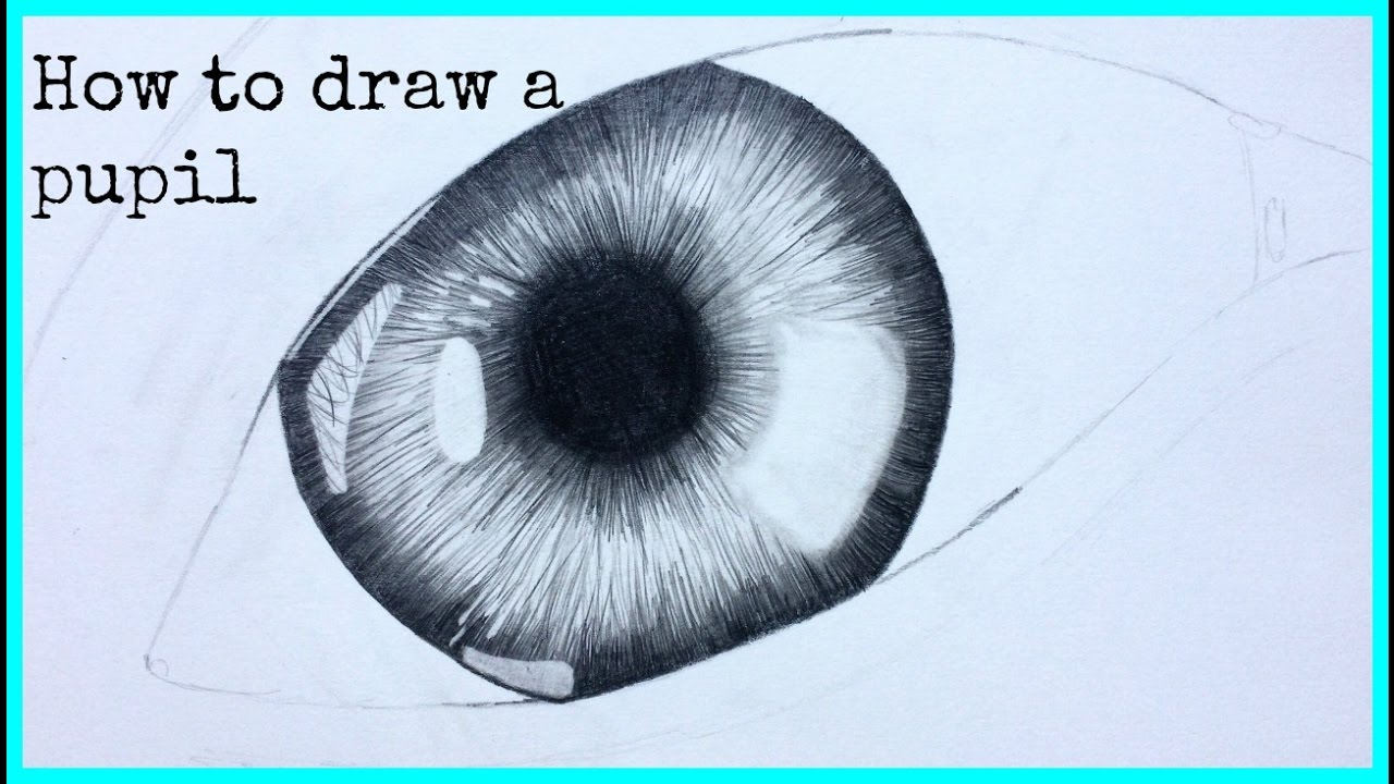 1280x720 How To Draw A Pupil (Eye)