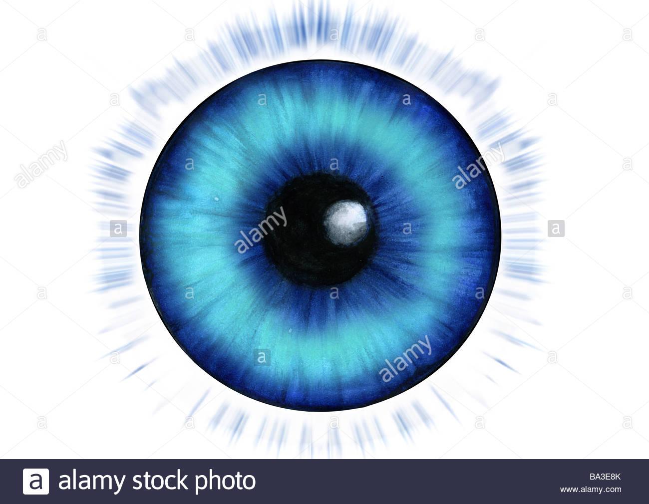 1300x1010 Illustration Eye Iris Gaze Beaming Graphics Drawing Watercolor