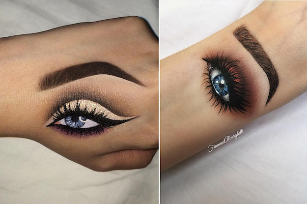 625x415 People Are Now Doing Hand Makeup And It's Actually Mesmerizing