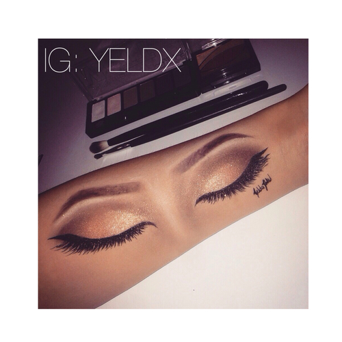 500x500 Makeup On Arm Uploaded By Yelda On We Heart It