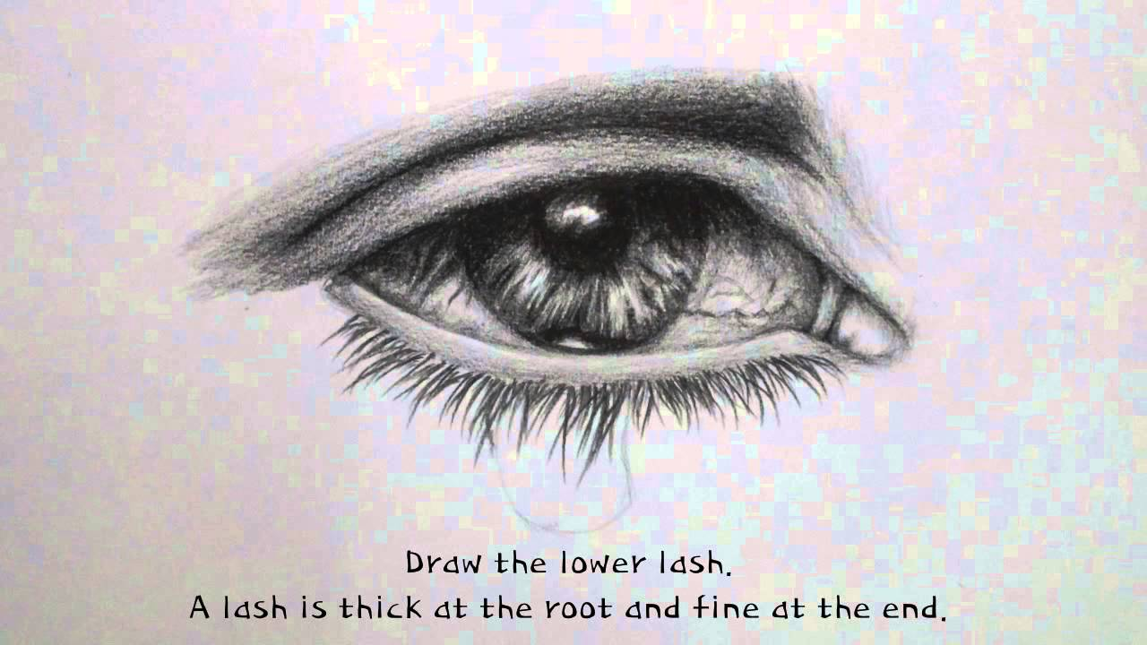 eye with tears drawing at getdrawings free download