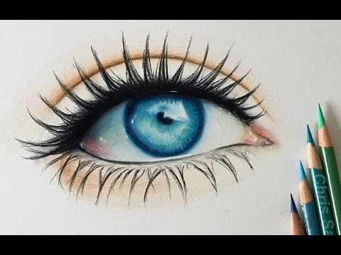 480x360 How I Draw A Realistic Colored Eye