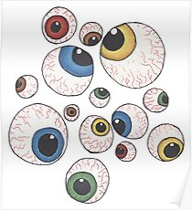210x230 Eyeballs Drawing Posters Redbubble