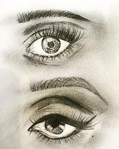 240x300 Eyeballs Drawings