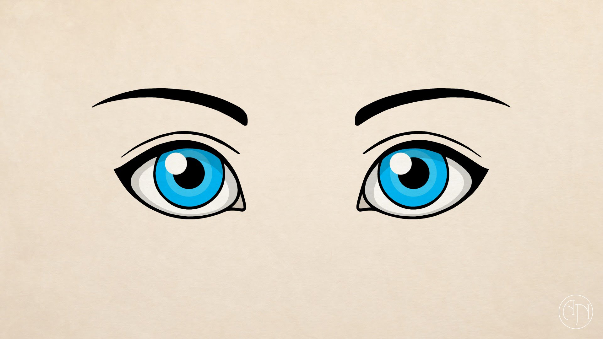 1920x1080 How To Draw] Simple Eyes