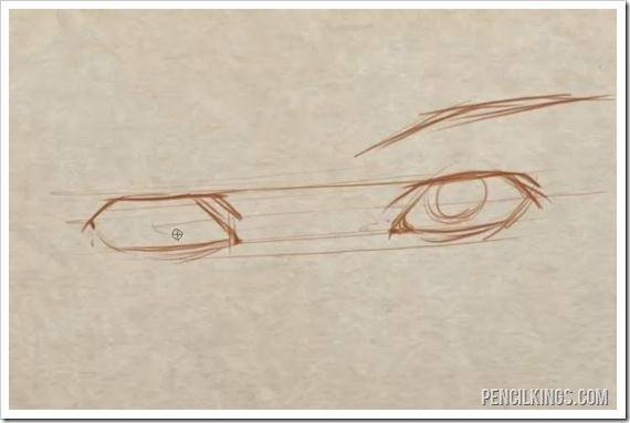 570x383 How To Draw Matching Eyes Easily
