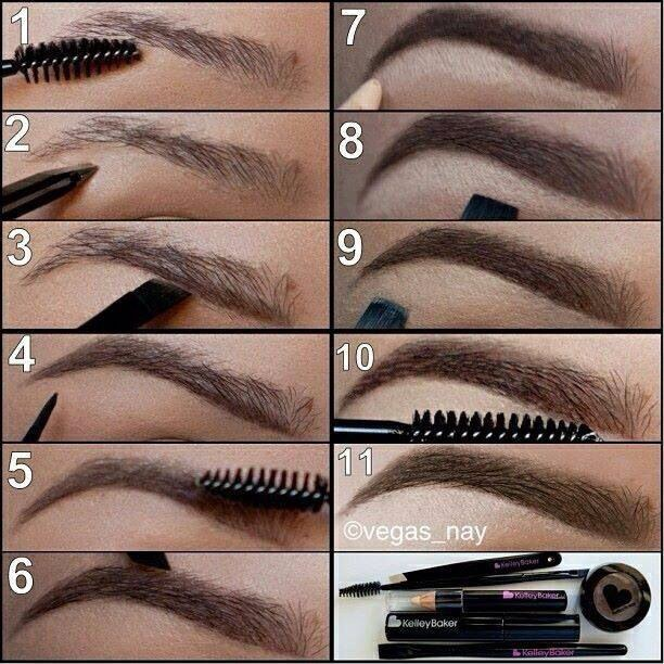 612x612 5 Things You Understand If You Draw On Your Eyebrows