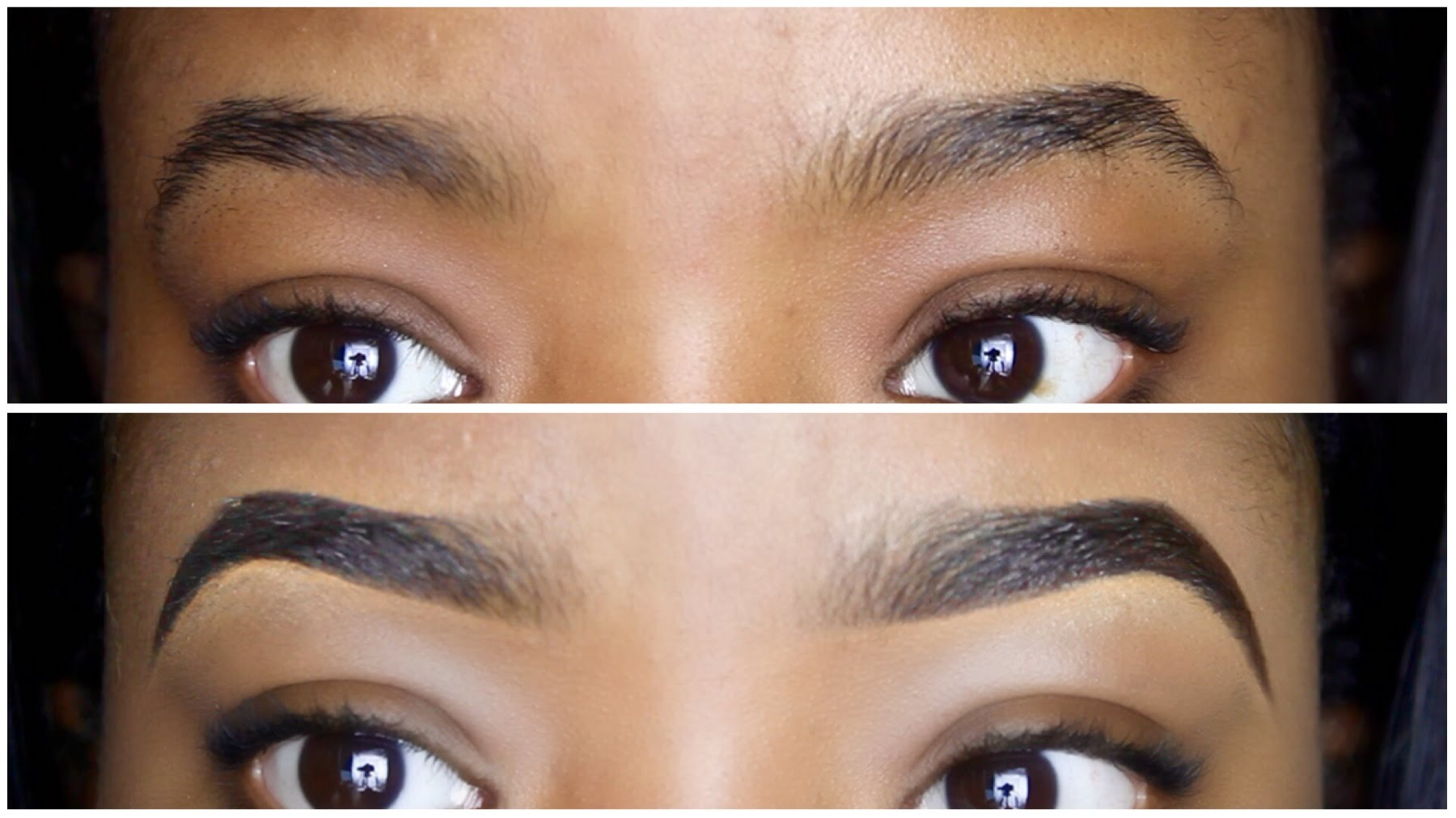 1800x1012 Easy Eyebrow Tutorial How To Draw Amp Fill In Your Eyebrows