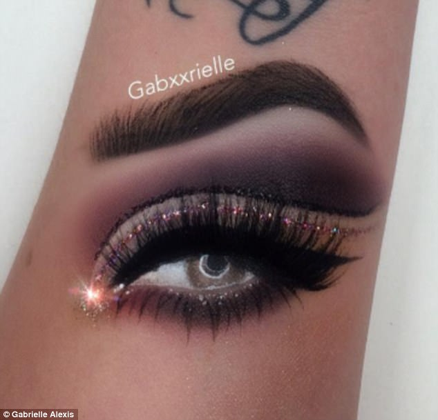 634x609 Instagram User Draws Images Of Eyebrows On Her Arm Daily Mail Online