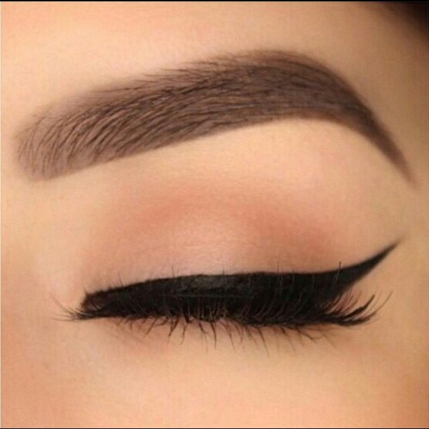 610x610 Black, Eyebrows, Eyeliner, Fashion, Girls, Goals, Inspiration