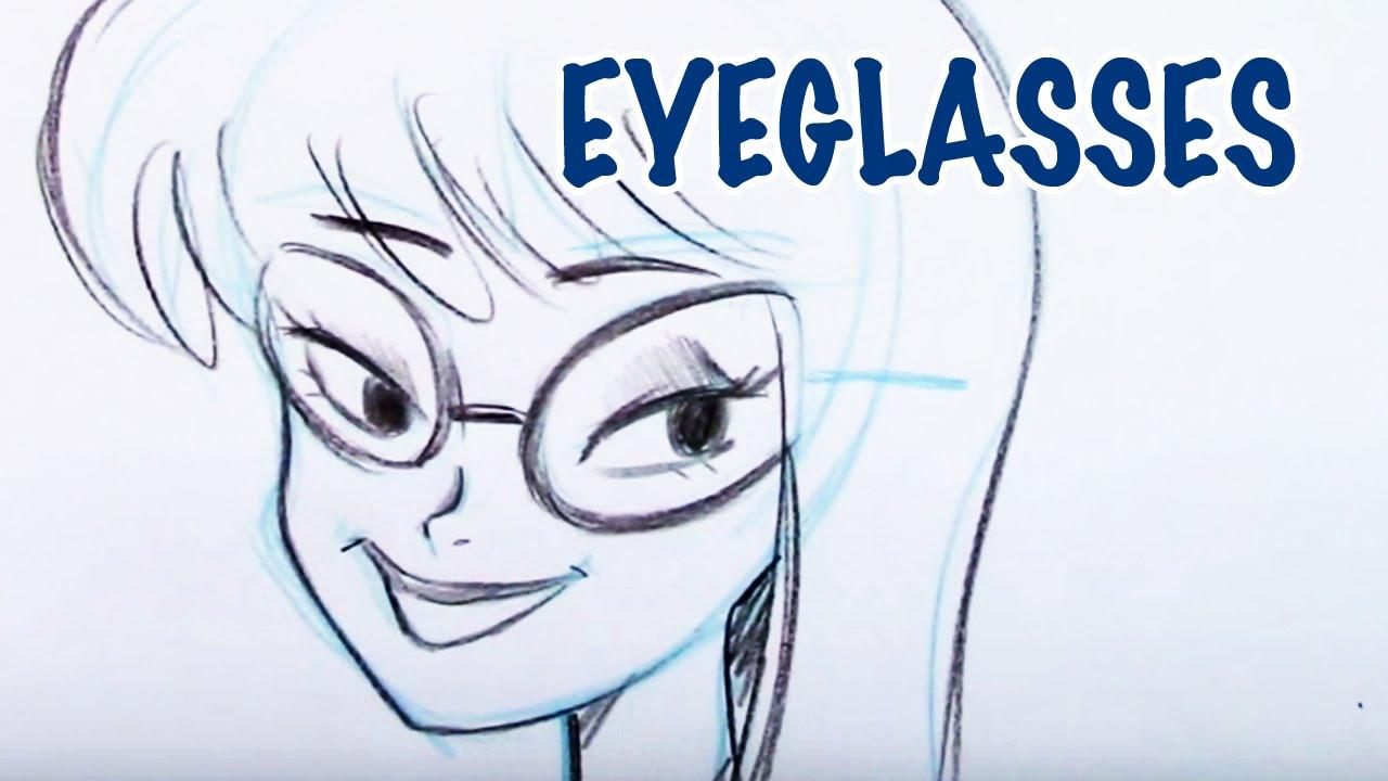 1280x720 Draw Eyeglasses